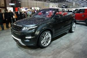 Range Rover Evoque Cabrio дебютира в Женева (галерия+видео)