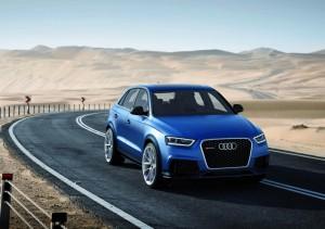 Концептуалният Audi RS Q3 ще бъде представен в Пекин (галерия)