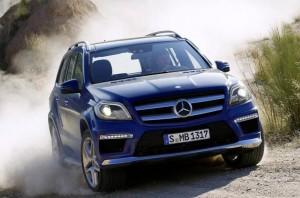 Първи снимки на новия Mercedes-Benz GL 2013 (галерия)