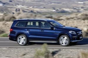 Първо видео на новия Mercedes-Benz GL