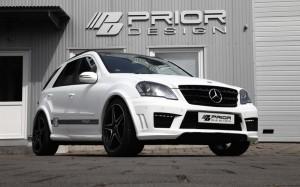 Нов оптичен пакет за Mercedes M-Class W164 от Prior Design (галерия)