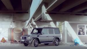 Как се паркира новият Mercedes G-class (видео)