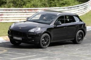 Spyshots: хванаха Porsche Macan на Нюрбургринг (галерия)