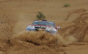 Ценков и Маринов продължават уверено след етап 3 на Silk Way Rally