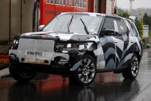 Spyshots: новият Range Rover ще има версия с удължена колесна база