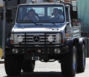Арнолд Шварценегер сменя Hummer с Unimog