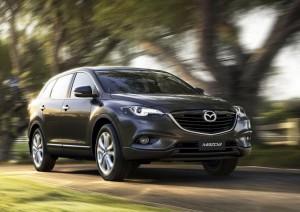 Новата Mazda CX-9 дебютира в Австралия (галерия)