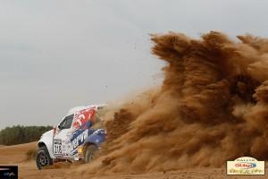 Силен етап 3 за българите в рали Мароко 2012