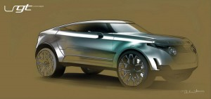 Дизайнер предлага Range Rover LRGT за съперник на BMW X6 (галерия)