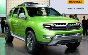 Renault DCross: Daciа Duster, разкрасена по бразилски