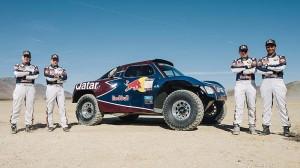 Официално: Сайнц и Ал-Атия в рали Дакар 2013 с Qatar Red Bull