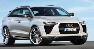 Кросоувър купе Audi Q8 през 2017 година?