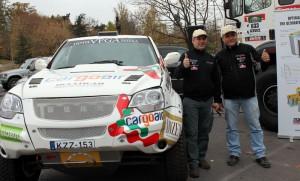 Петър Ценков и Иван Маринов са готови за рали Дакар 2013 (галерия)