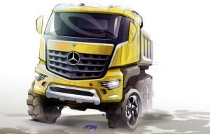 Mercedes Arocs: нов камион за тежки условия