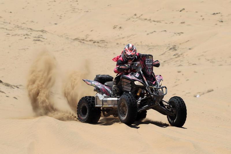 Рали Дакар 2013: снимки мотоциклети и ATV, етап 12
