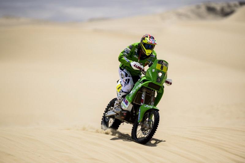 """Рали """"Дакар"""" 2013: избрани кадри с пилоти на KTM от първите етапи"""