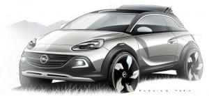 Мини кросоувърът Opel Adam Rocks идва в Женева