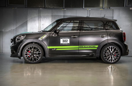 Лимитиран Mini Contryman John Cooper Works ALL4 Dakar Winner 2013