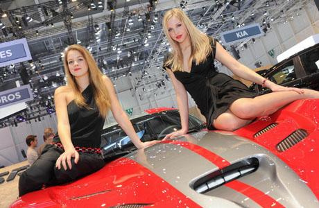 Красавиците от автосалон Женева 2013