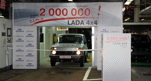 АвтоВАЗ произведе 2 милиона Lada Niva (Lada 4×4)