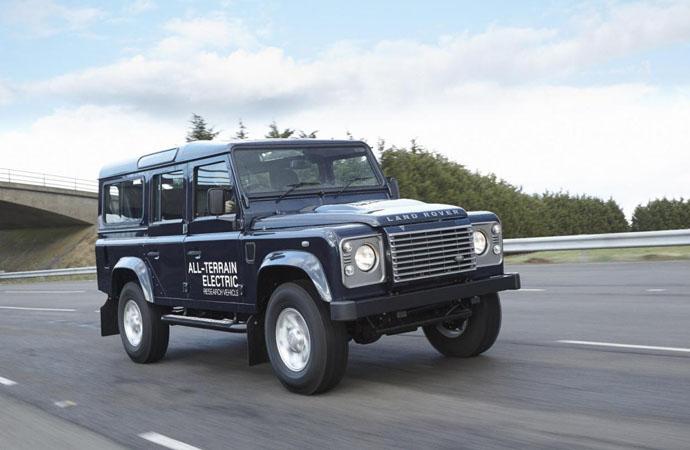 Електрически Land Rover Defender за Женева (галерия)