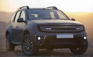 Доза лукс и стил за Dacia Duster от DC Design