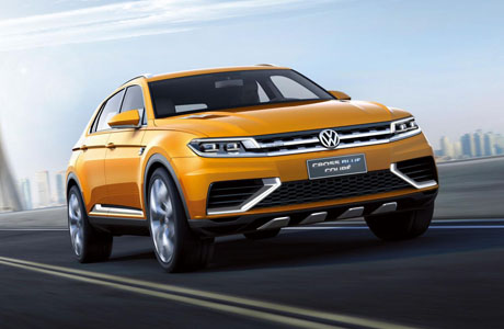 Volkswagen CrossBlue Coupe – Evoque по немски