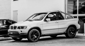 Направиха готин пикап от BMW X5