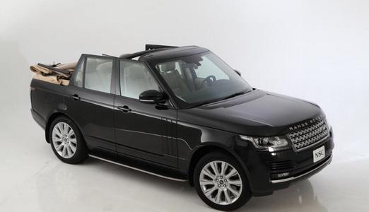 Range Rover кабриолет идва през септември