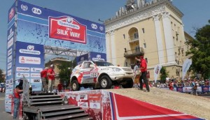 Юнаци: Ценков и Маринов завършиха 10-и в Silk Way Rally 2013