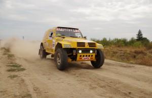 Ценков и Маринов най-бързи в етап 3 на Balkan Breslau Rallye 2013