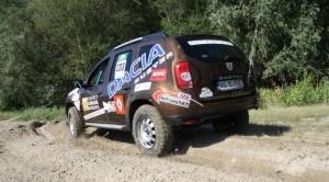 Dacia Duster на старта на Balkan Breslau Rallye 2013