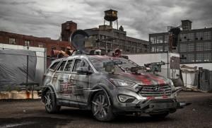 Hyundai Santa Fe Zombie Survival Machine ще бори зомбита
