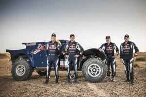 Карлос Сайнц на рали Дакар 2014 с Red Bull SMG Rally Team