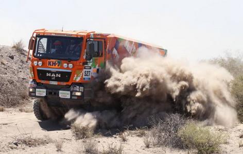 Рали Дакар 2014: най-доброто от камионите (снимки)