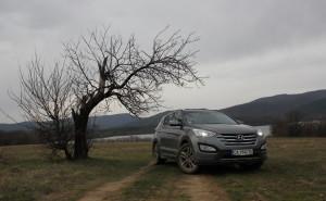 Трето поколение премиер: тест Hyundai Santa Fe 2,2 CRDi