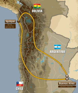 Ето го маршрутът на рали Дакар 2015 с много новости!