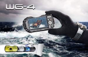 Новите екстремни фотокамери Ricoh WG-4 /Pentax WG-4 и WG-4 GPS