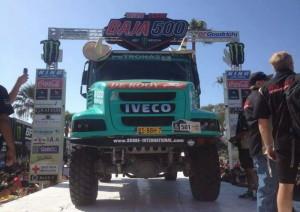 Де Рой и Iveco на старта на Baja 500 в Мексико