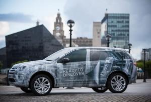 Разкриха интериора на Land Rover Discovery Sport
