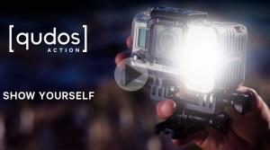 qudos: уникална светлина за вашето GoPro или DSLR