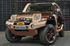 Ford Brazil представя оф-роуд концепцията Troller T4