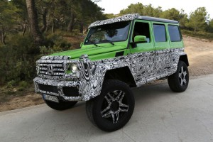 Mercedes G63 AMG Green Monster: 4х4 вместо 6×6 AMG