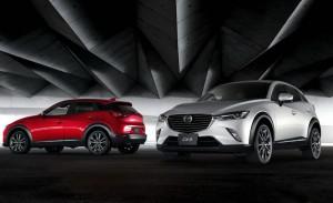 Новият Mazda CX-3 официално (галерия)