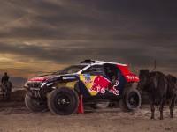"""Peugeot 2008 DKR в """"цветовете на войната"""" за Дакар 2015"""
