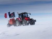 До Южния Полюс с трактор Massey Ferguson