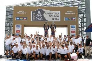 Dakar 2015: the big winners (video)