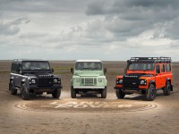 Пенсионират Land Rover Defender със специални версии
