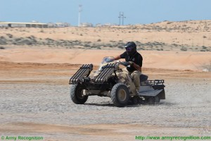 Sand-X T-ATV 1200: интересно военно хибридно возило