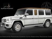Брониран Alpha Phoenix на базата на Mercedes G63 AMG